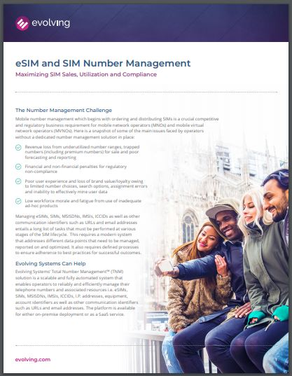 eSim and Number Management